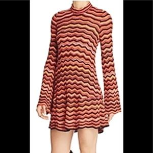 BNWT free people dressy multi colored